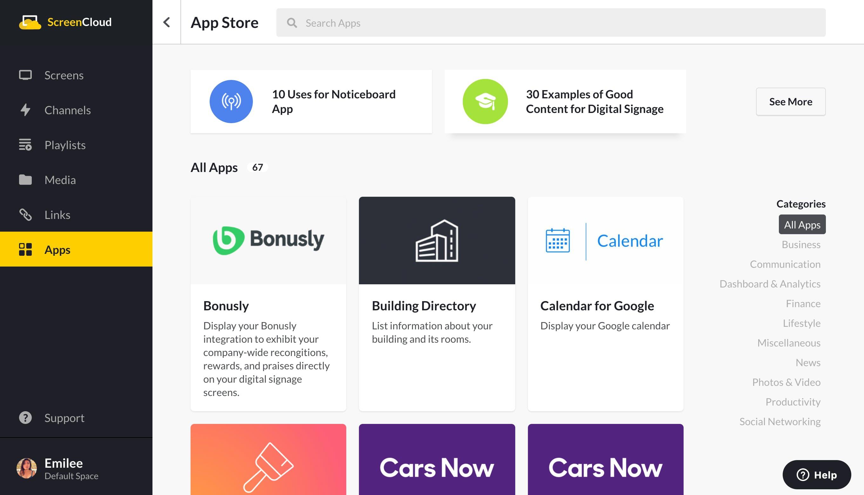 screencloud app store