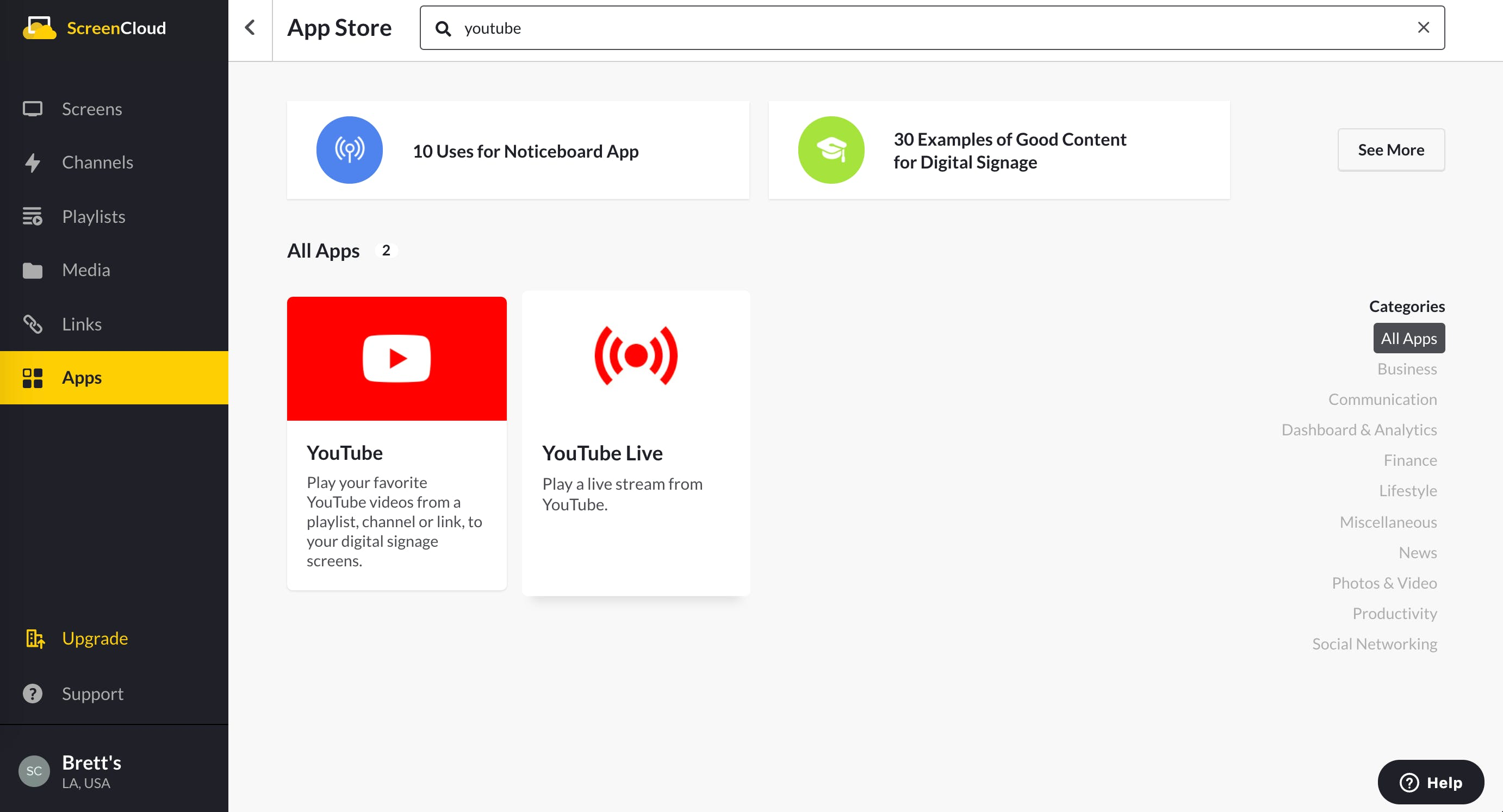 YouTube Live App Guide - App Store 5.13.2020.png