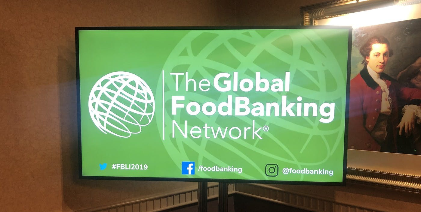 How the Global FoodBanking Network Used Event Digital Signage to Support Attendees and Reduce Support Staff Needed