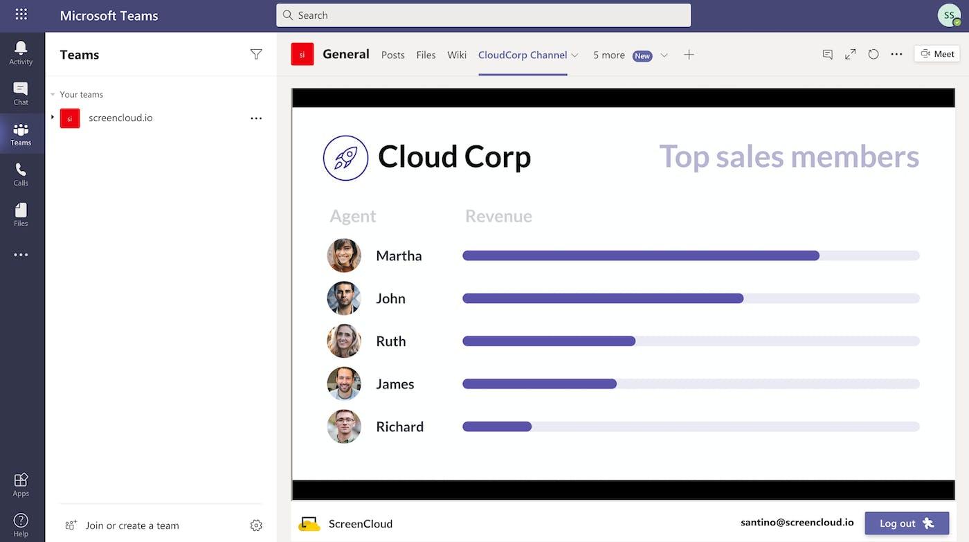 ScreenCloud App for Microsoft Teams Guide