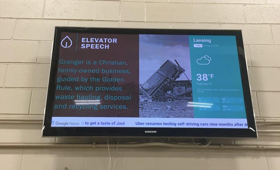 Granger elevator pitch