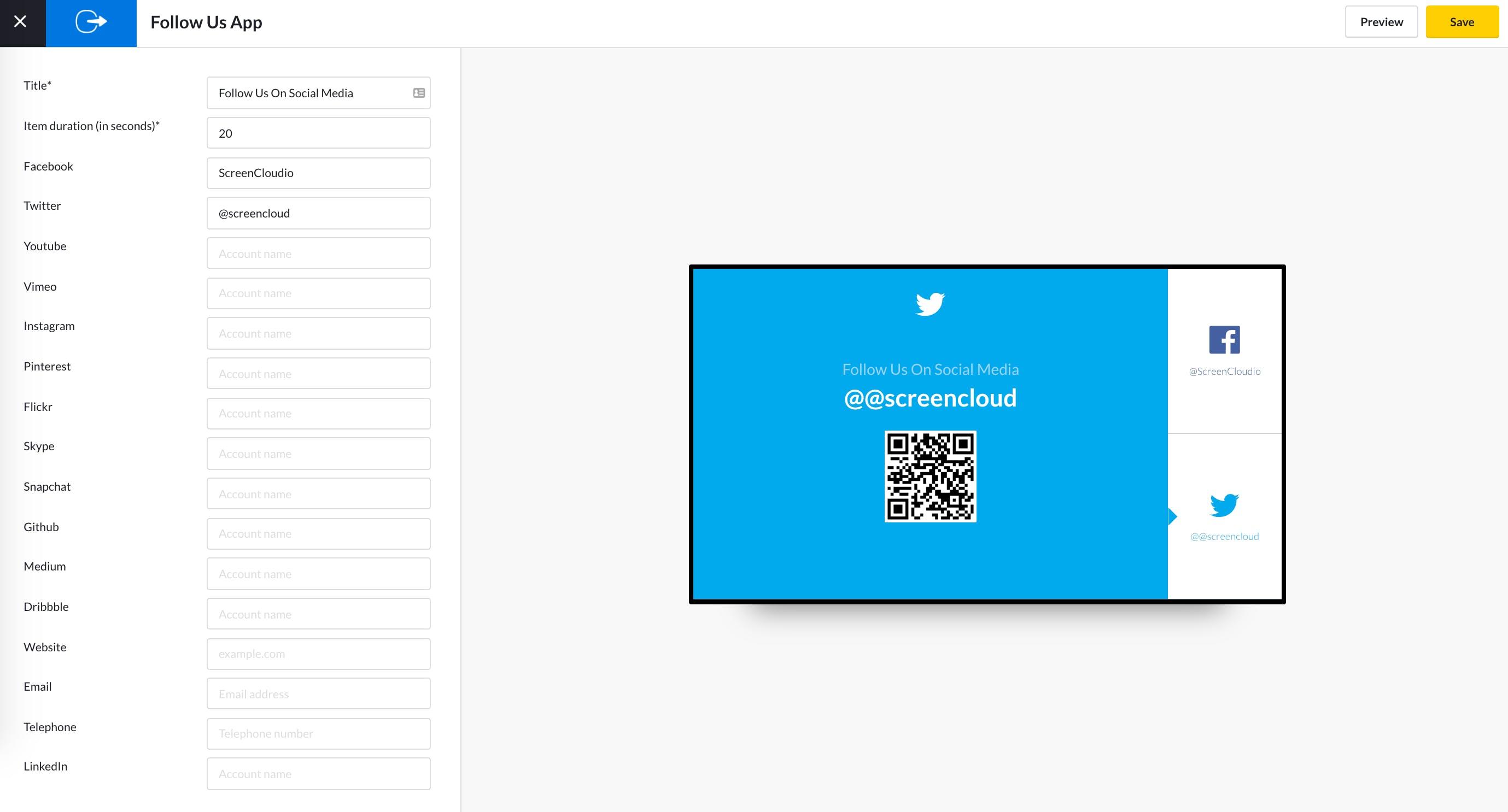 Follow Us App Guide - App configuration 5.13.2020.png