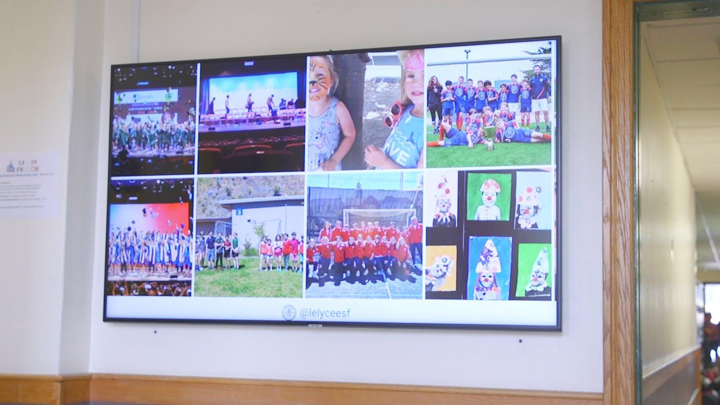 How Lycée Français de San Francisco Uses ScreenCloud to Democratize the Flow of Information Across Three Campuses