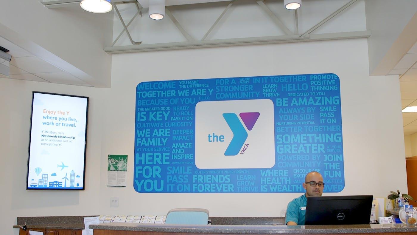 reception at YMCA Silicon Valley