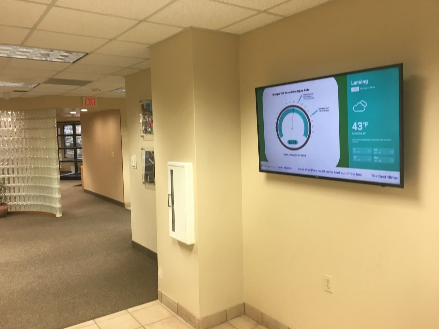 Michigan Waste Removal Company Granger Uses ScreenCloud to Increase Safety Awareness Among Employees