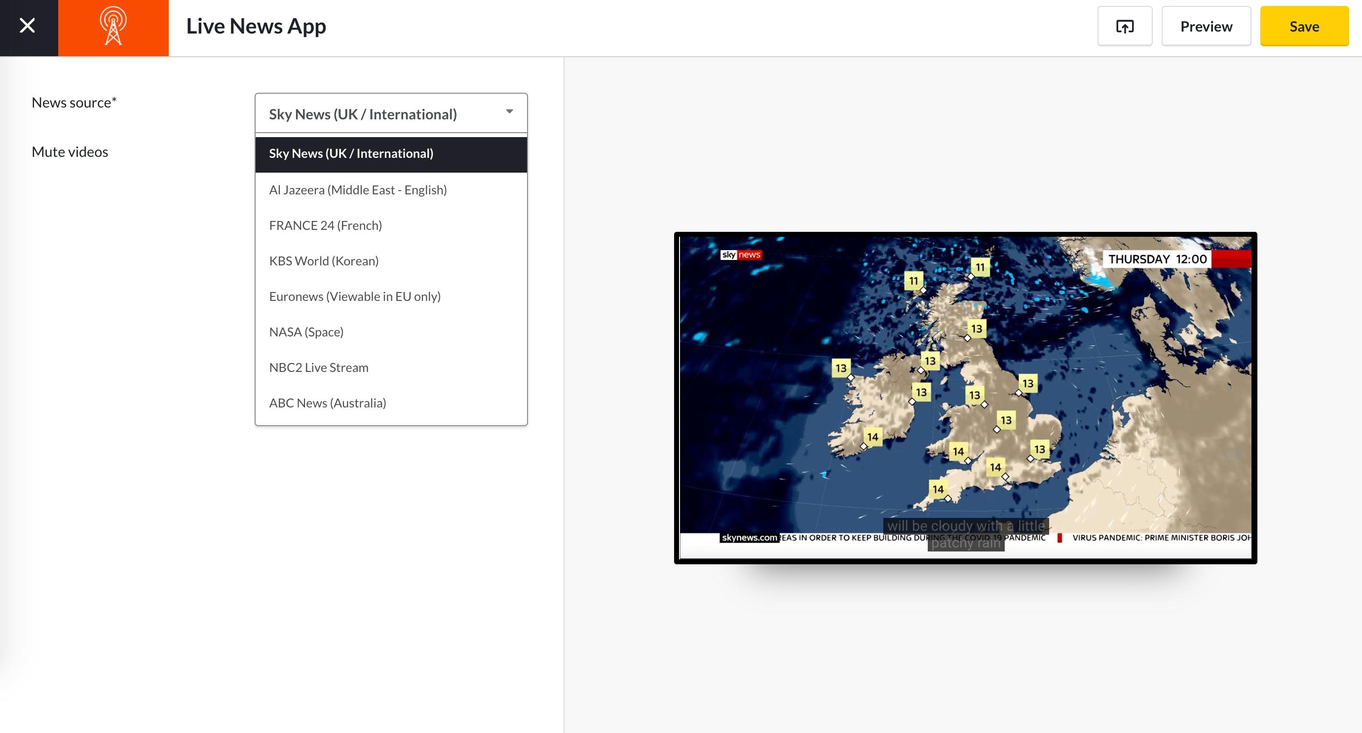 Live News App Guide - Set up app 5.13.2020.png