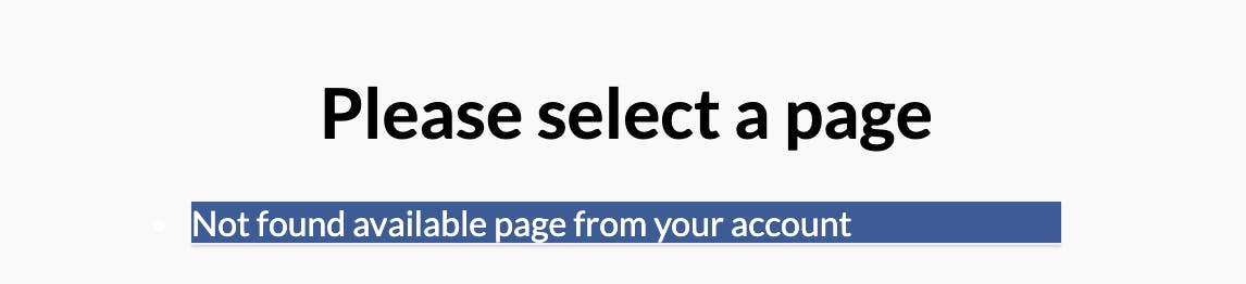 Facebook Recommendations - FAQ No Page Available 5.13.2020.png