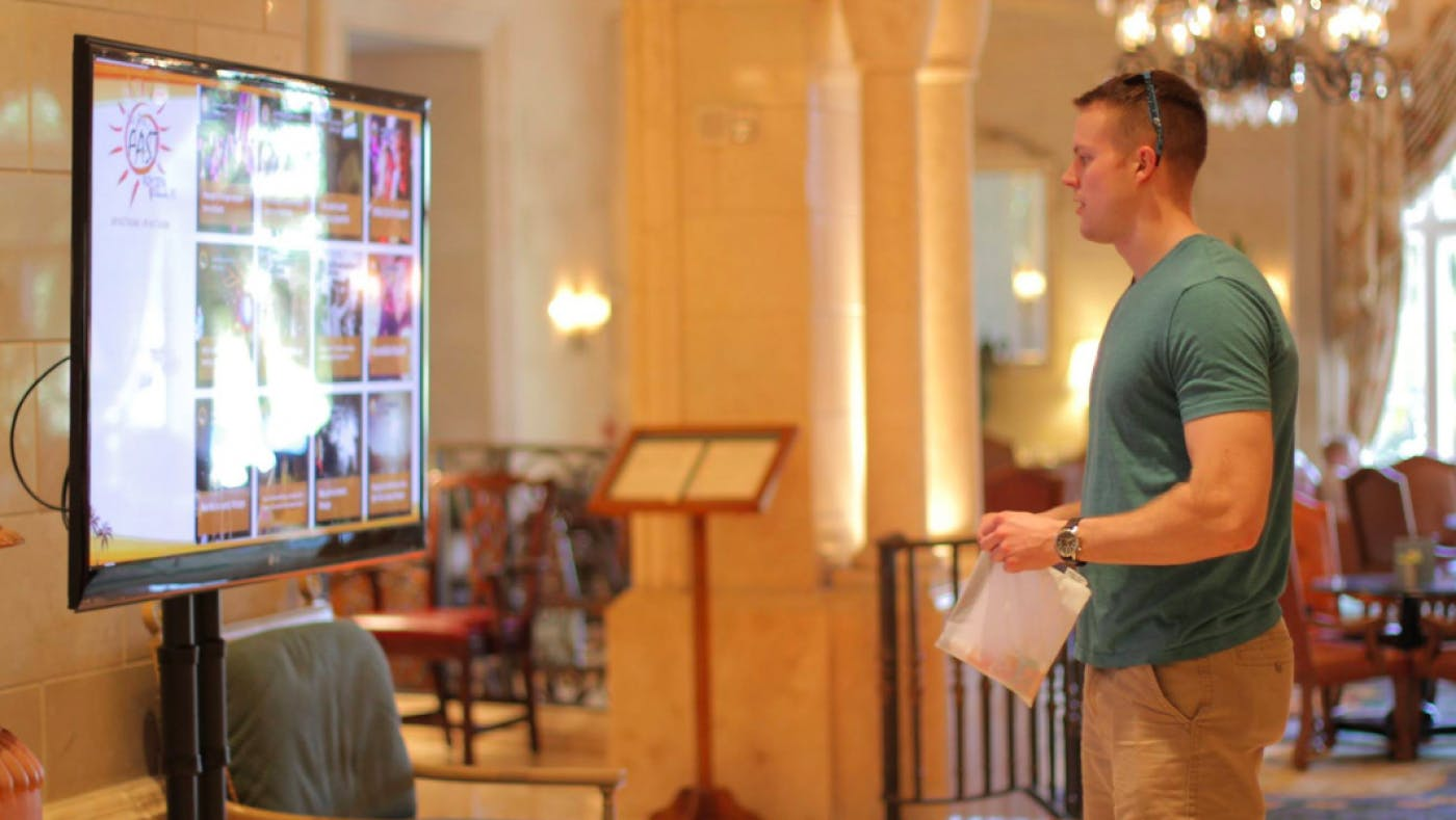 How Digital Signage and User Generated Content Is Transforming Hospitality