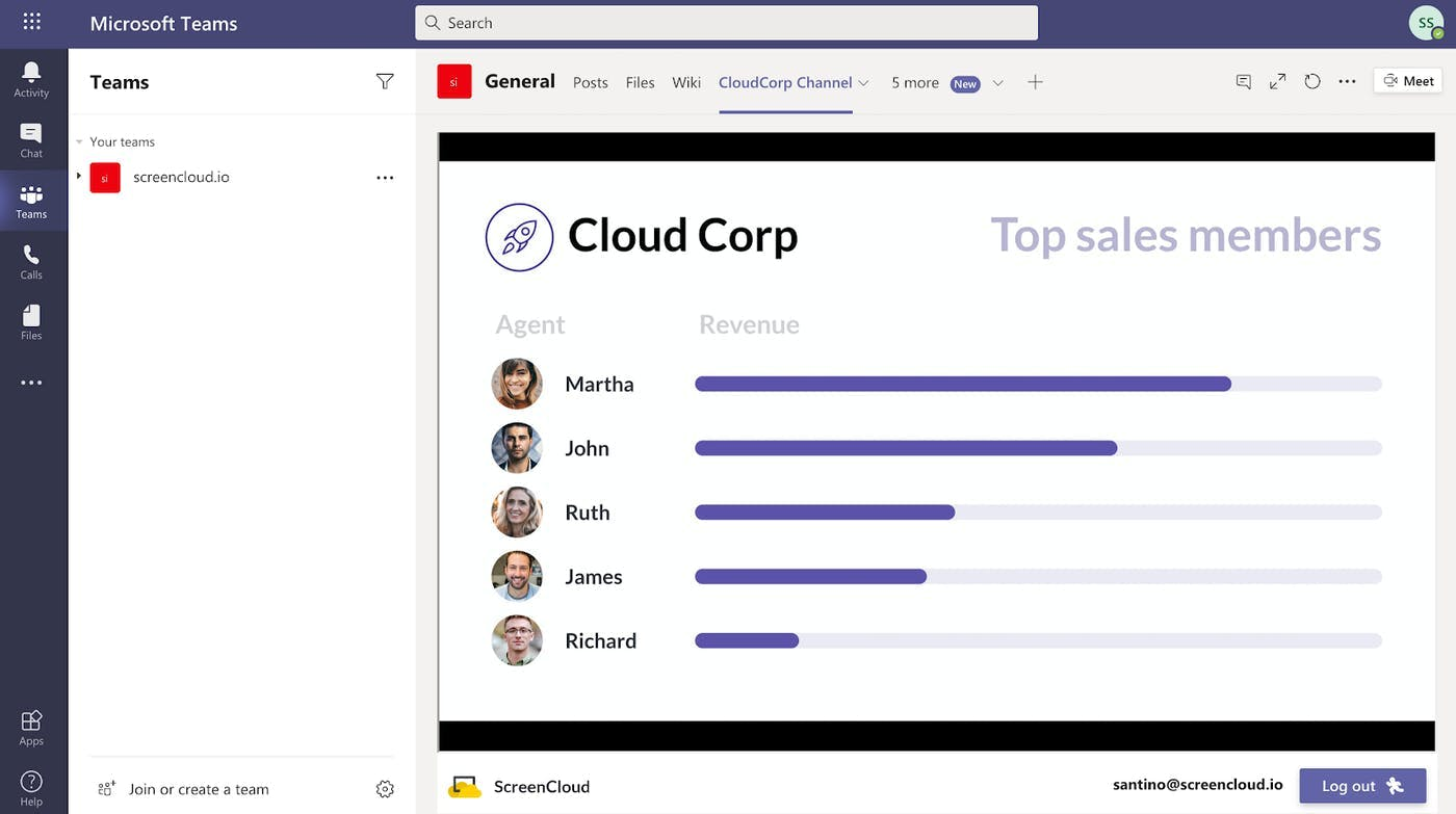 ScreenCloud Announces Microsoft Integration