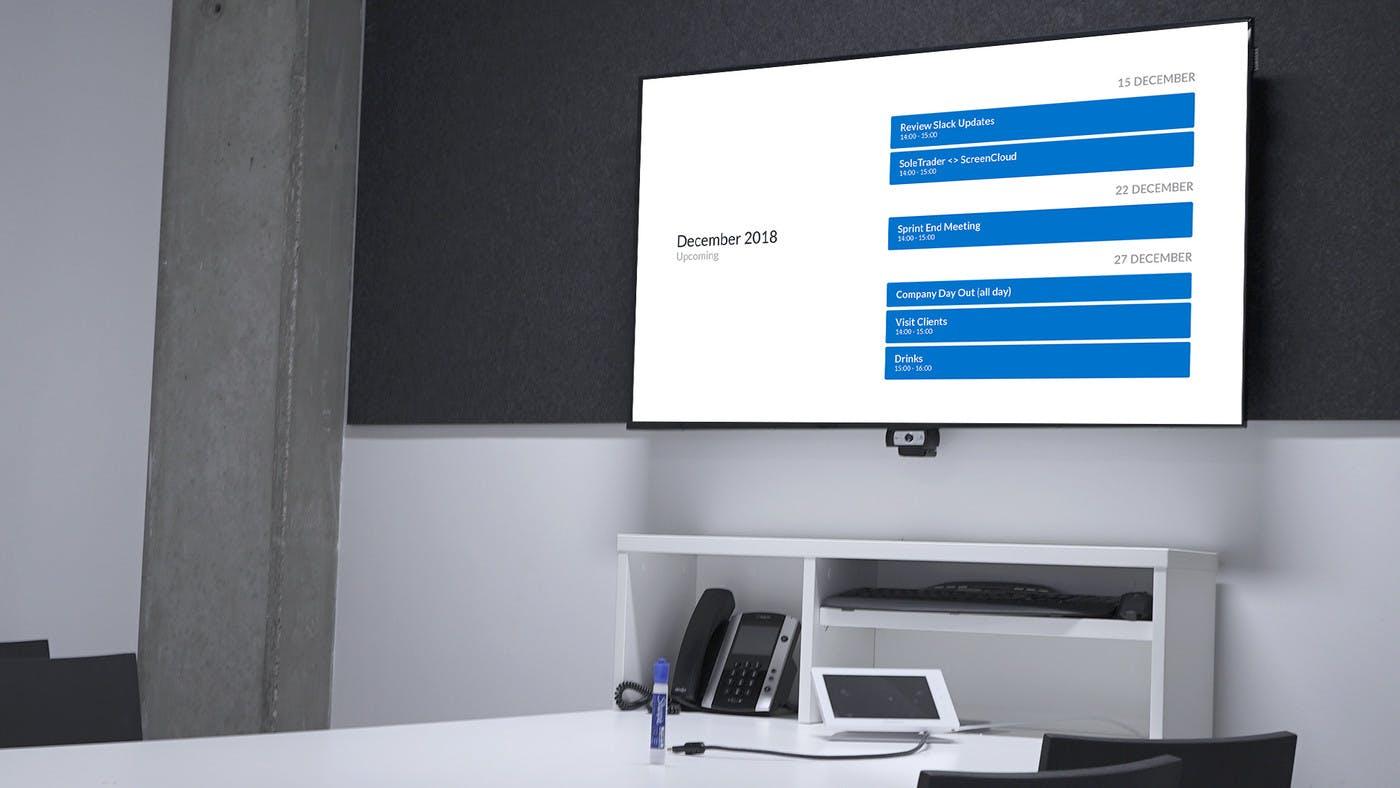 ScreenCloud Outlook Calendar App Guide