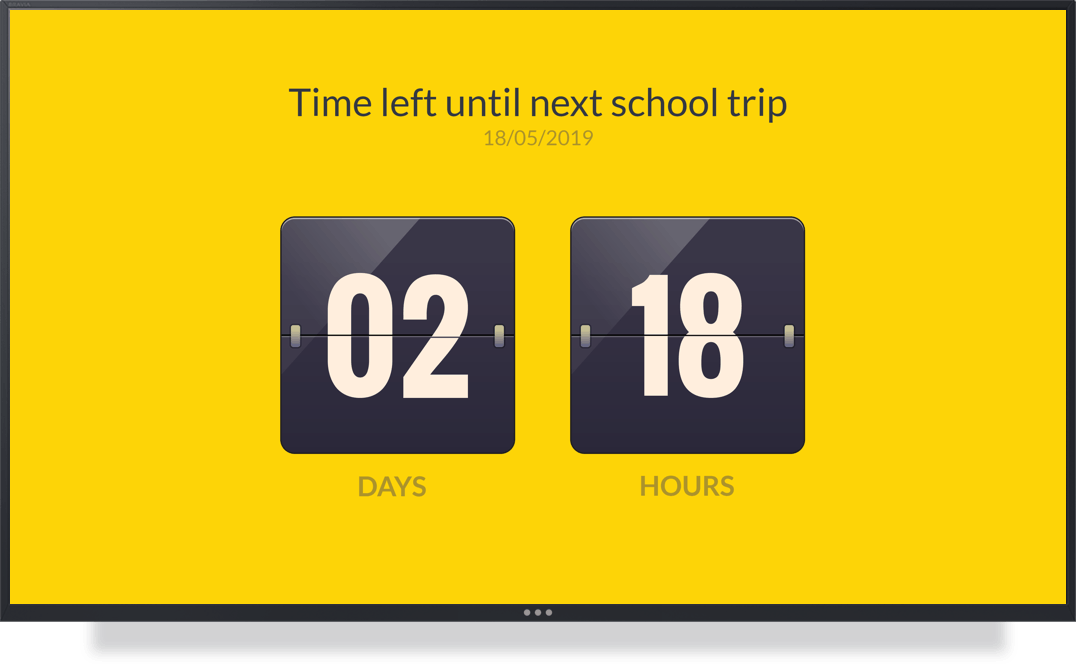 ScreenCloud App Countdown Timer