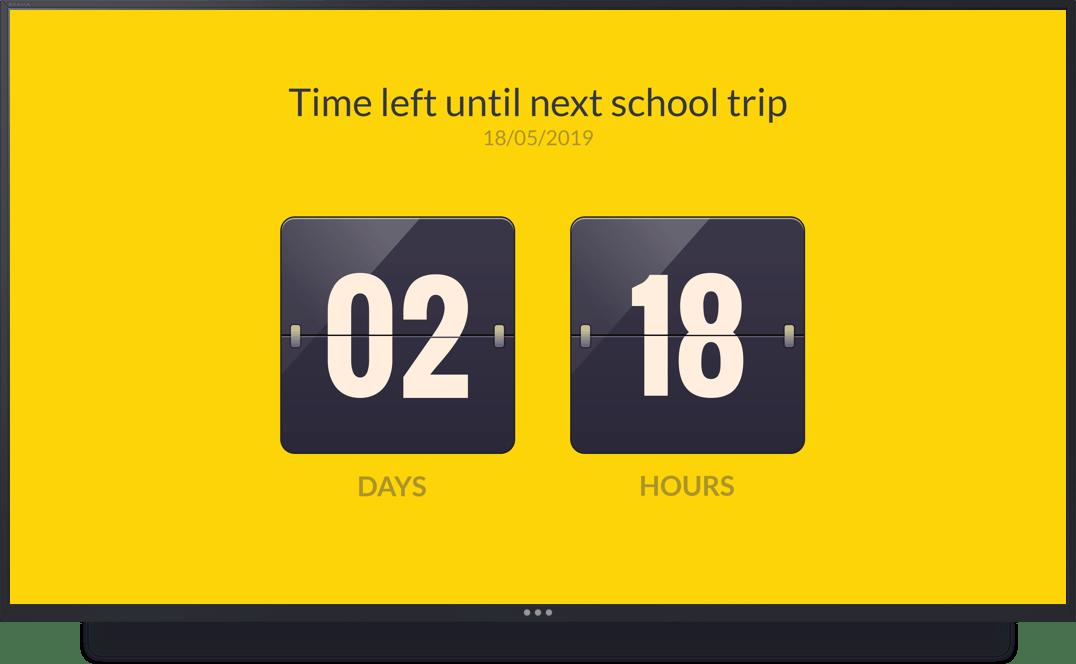 ScreenCloud App Countdown Timer