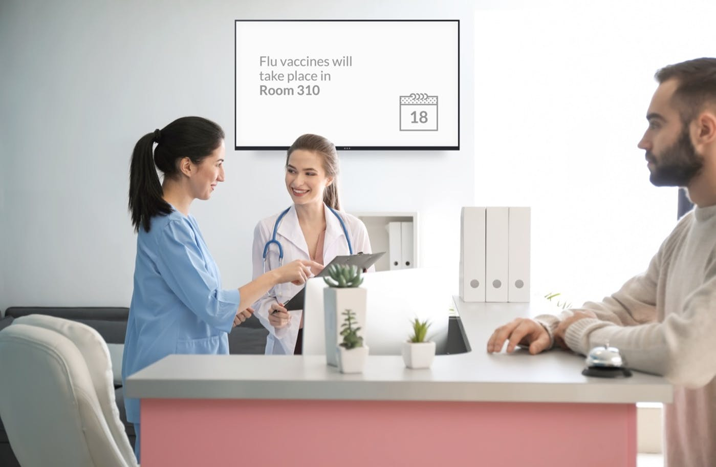 How to Use Screens to Share Critical Information in Your Hospital