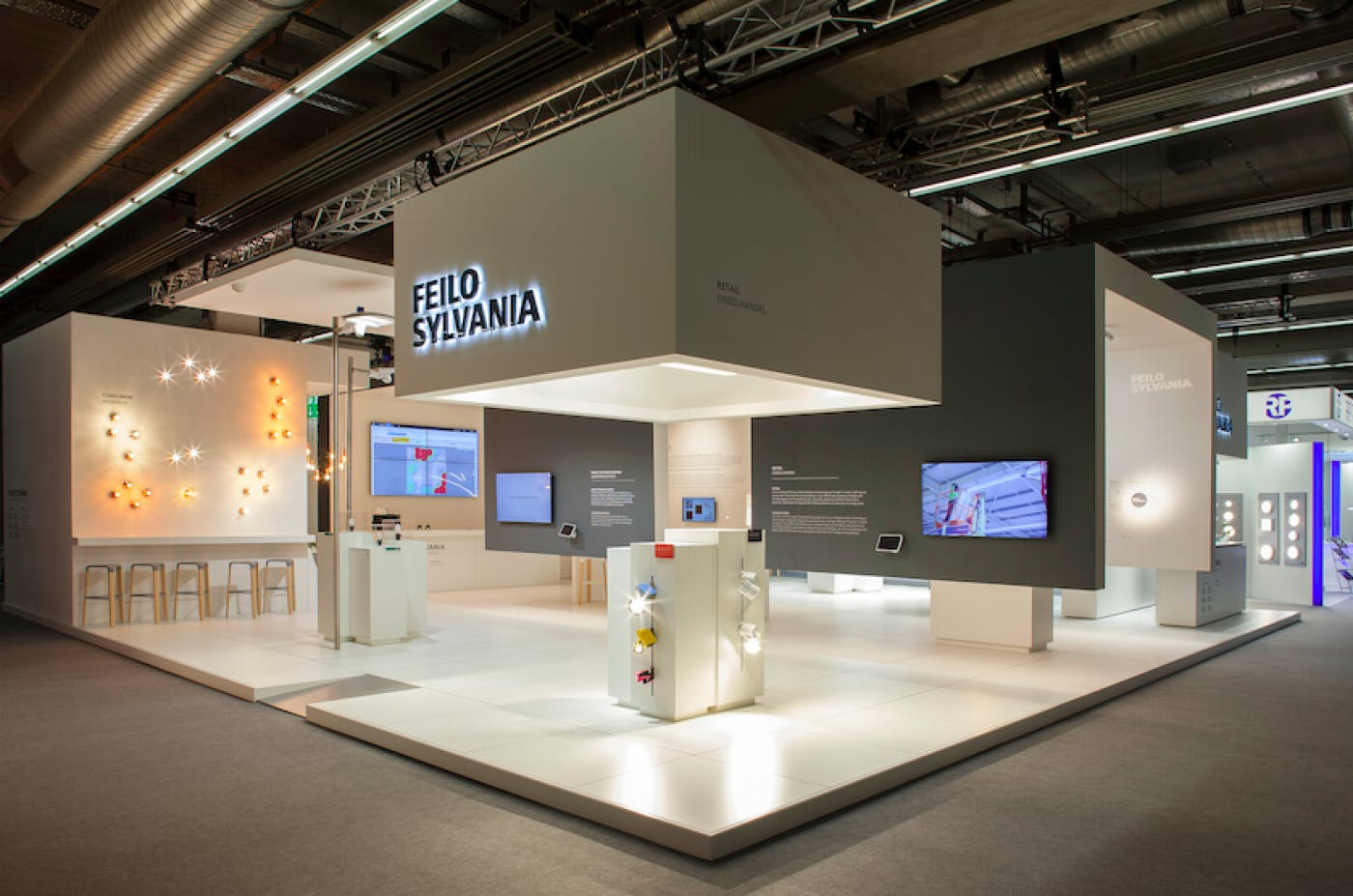 How Architectural Lighting Solutions Company Feilo Sylvania Attracted over 5000 Visitors to Their Exhibition Stand Using ScreenCloud