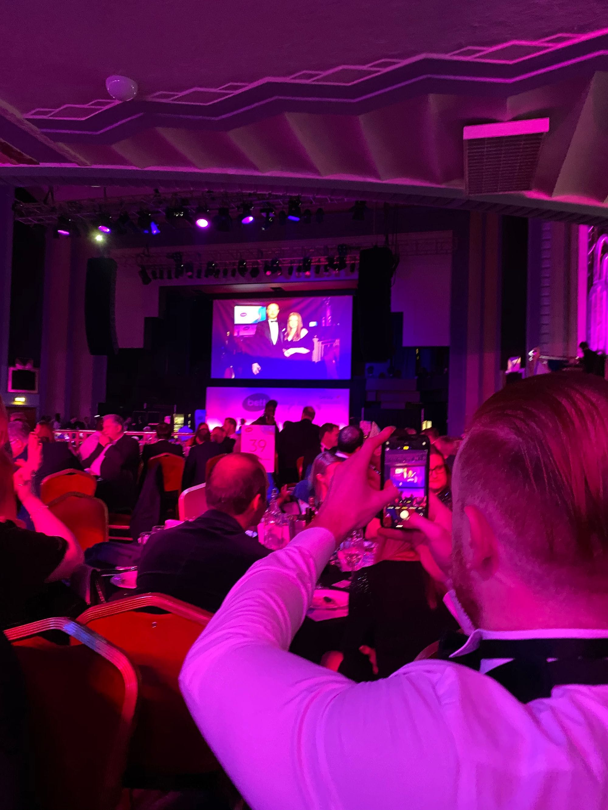 DBS checks vetting pre employment appointment bett show awards finalists leadership and management solutions troxy london co-founder Luke O'Dwyer photo SCR Tracker single central register winner award-winning highly commended by judges