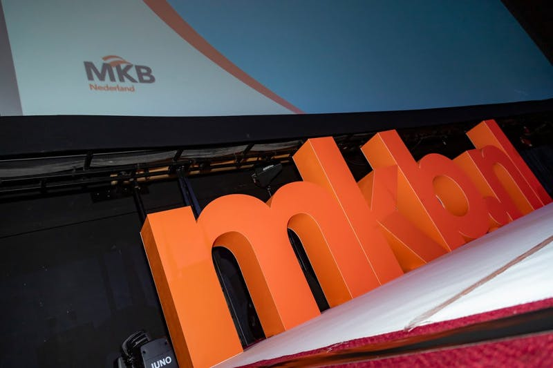 Logo MKB at he MKB Event