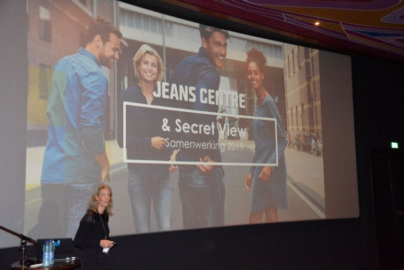 Jean Center presenting at the Secret View Clients Day 2019