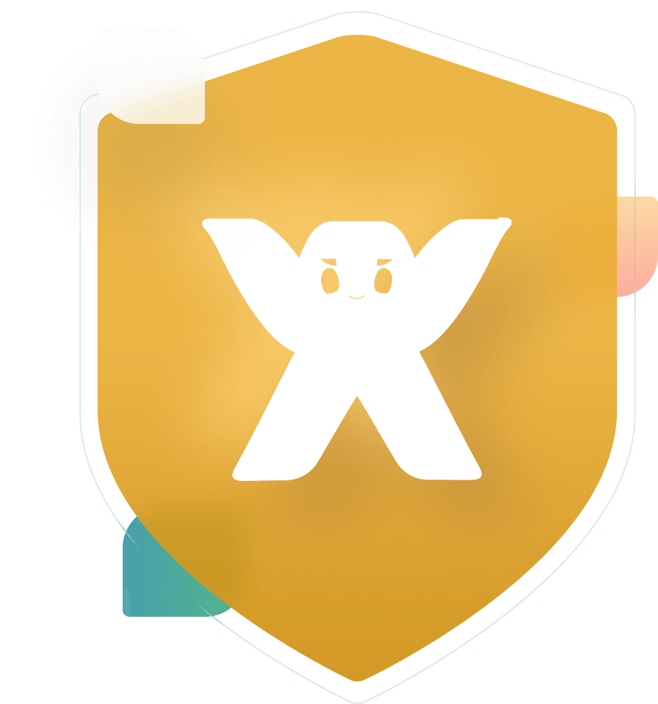Wix logo badge