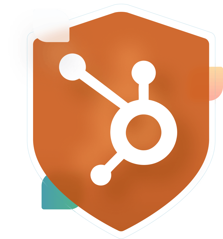 Hubspot logo badge