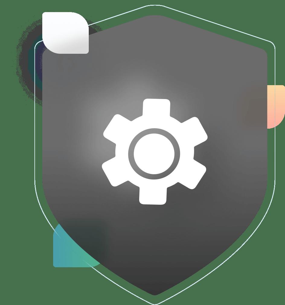 Webview logo badge