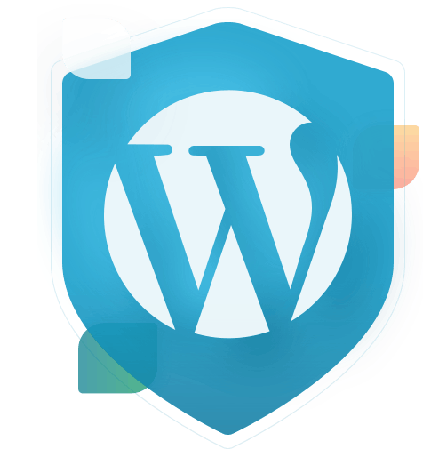 wordpress logo badge
