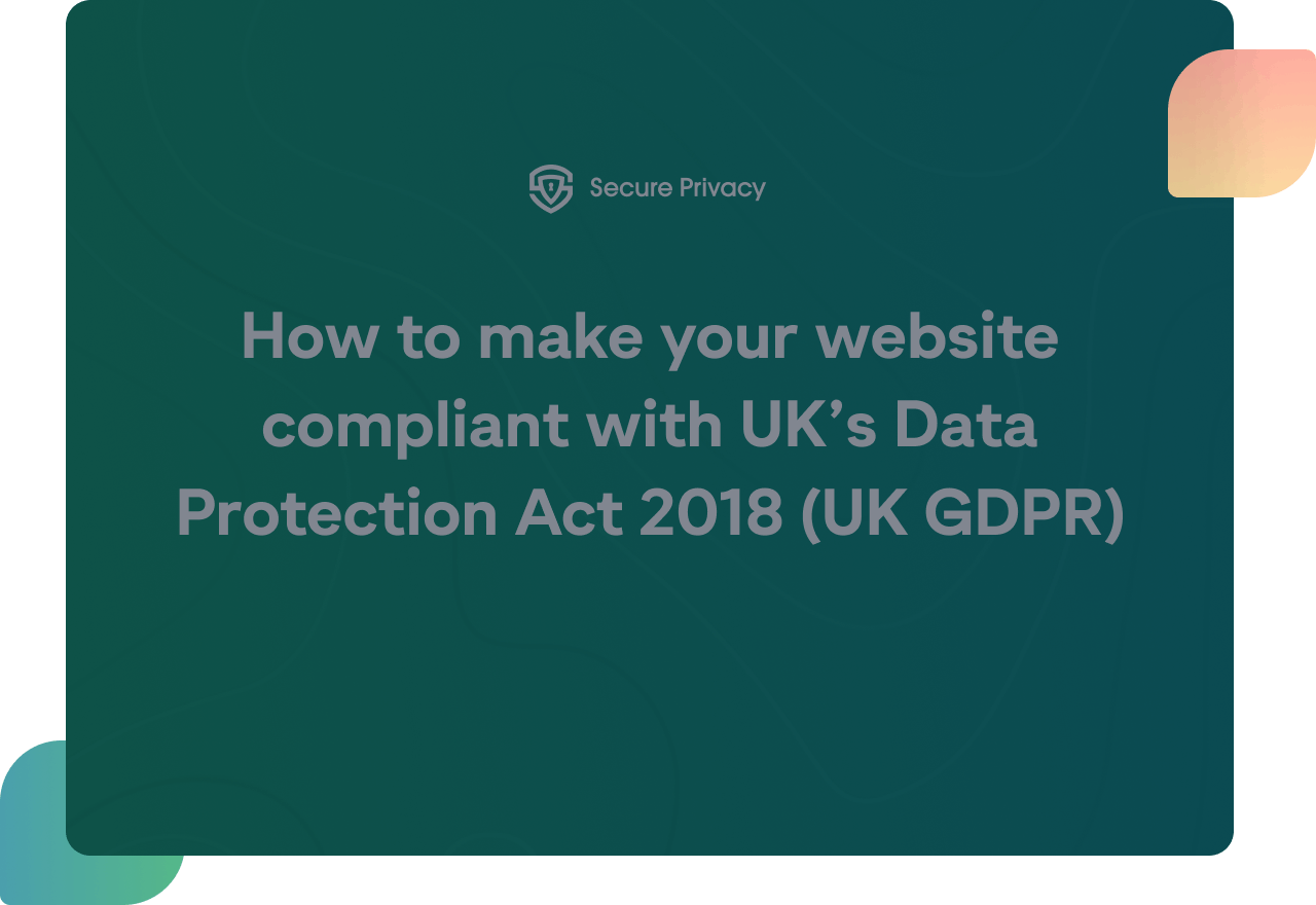 uk gdpr compliance video cover