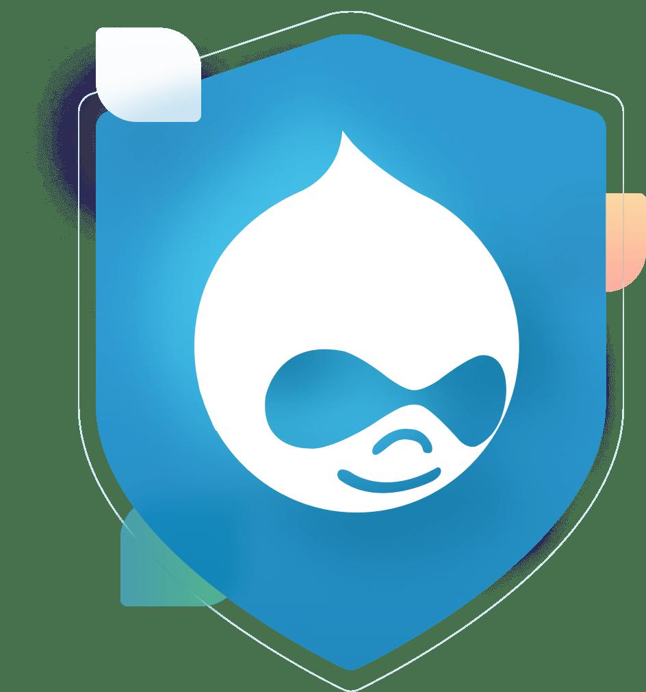 drupal logo badge