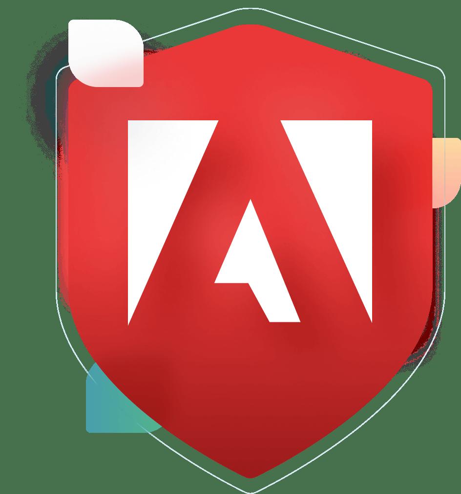 Adobe Tag Manager logo badge