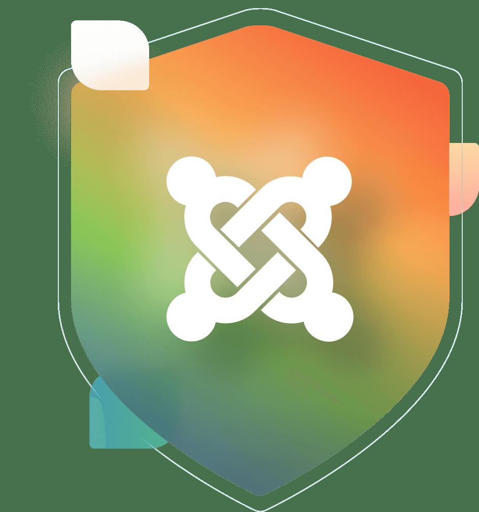Joomla logo badge