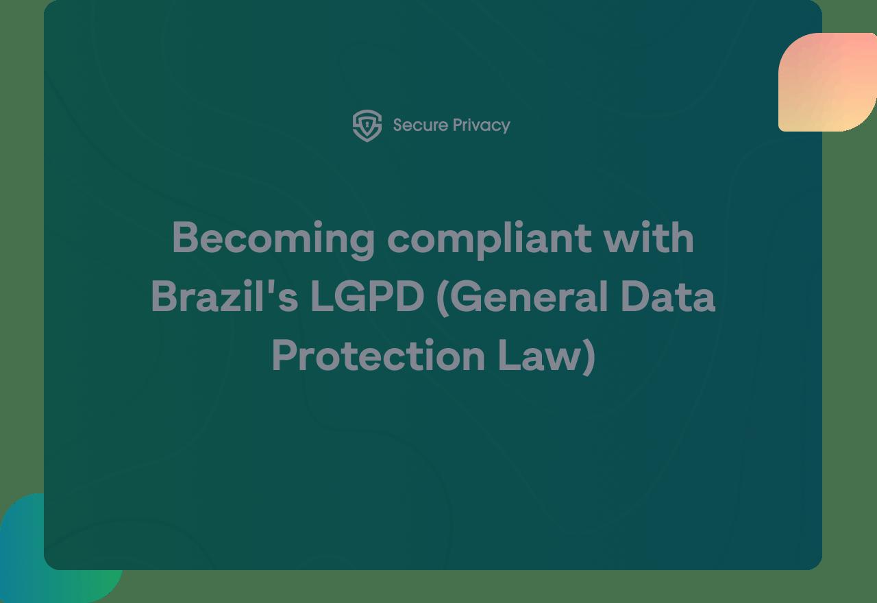 lgpd compliance video cover
