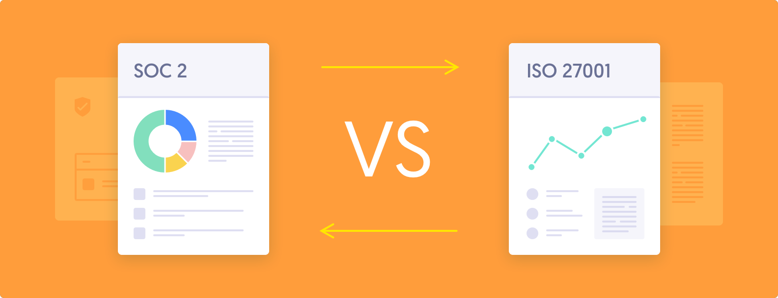 SOC 2 vs. ISO 27001: Similarities, Differences, and Benefits of Each
