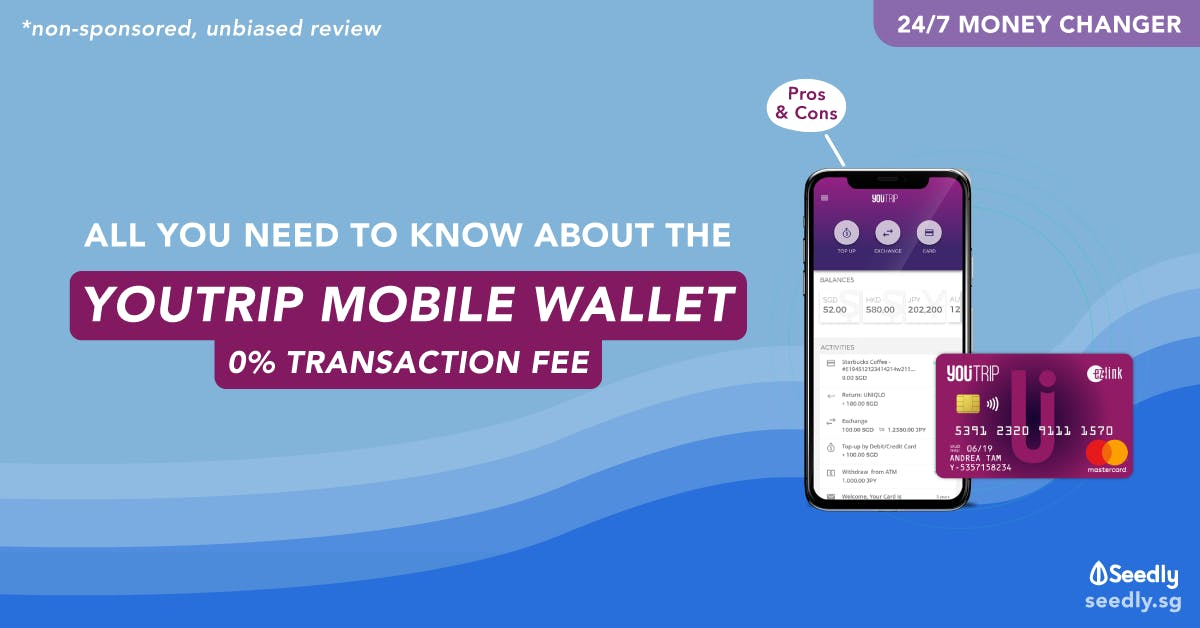 YouTrip Multi Currency Account Wallet Reviews