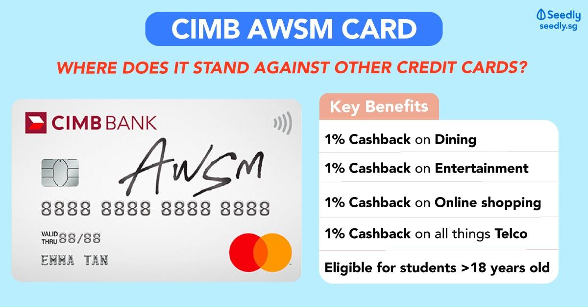 CIMB AWSM Card Review of Benefits