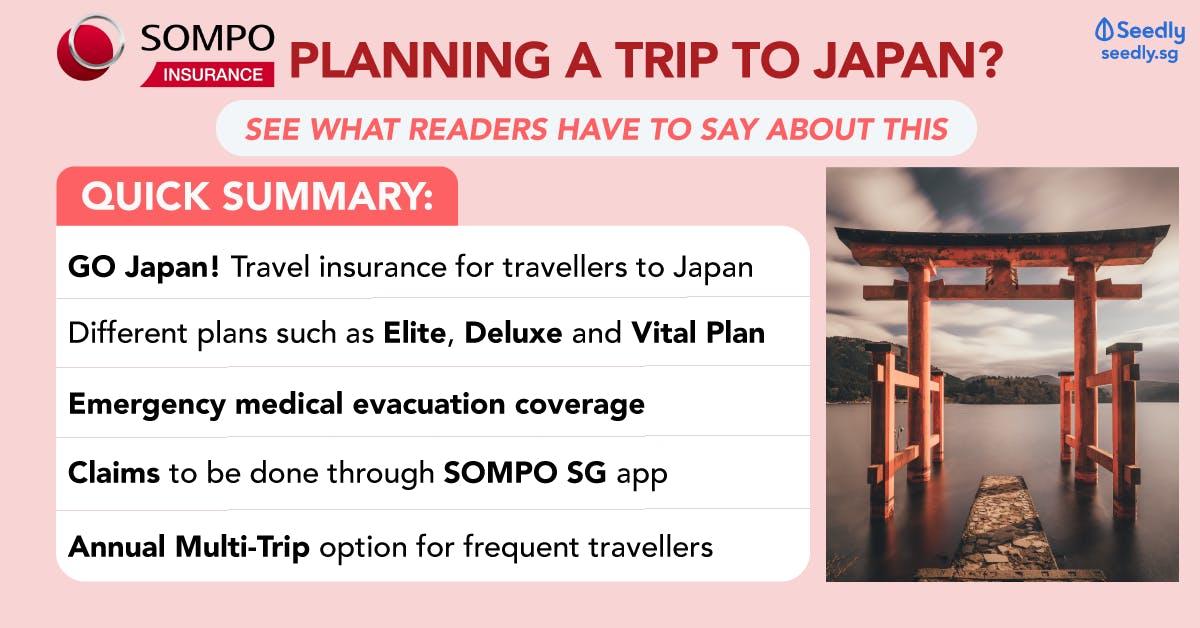 Sompo TravelJoy - Travel Insurance