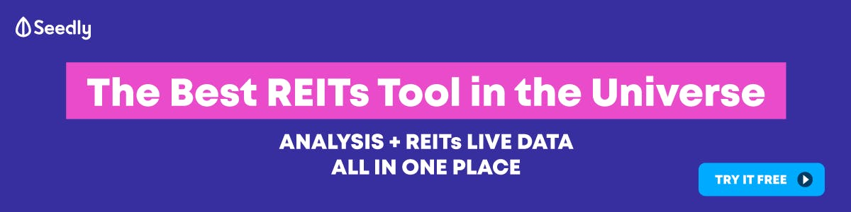 Seedly REITs Tool Top Banner