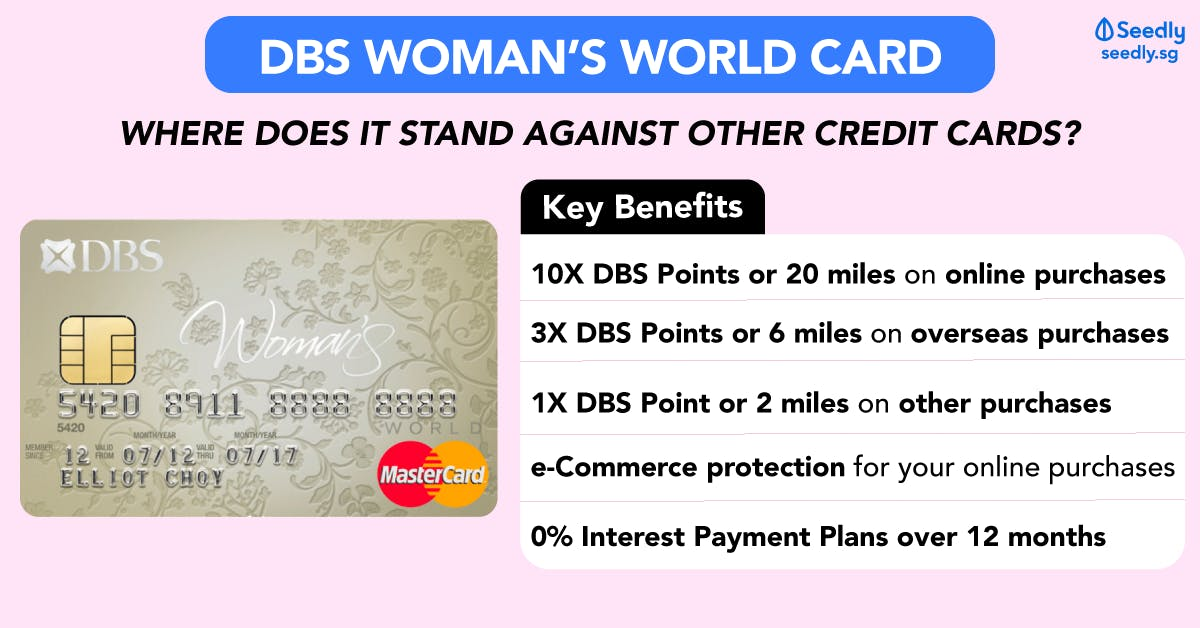 DBS Woman's World Card