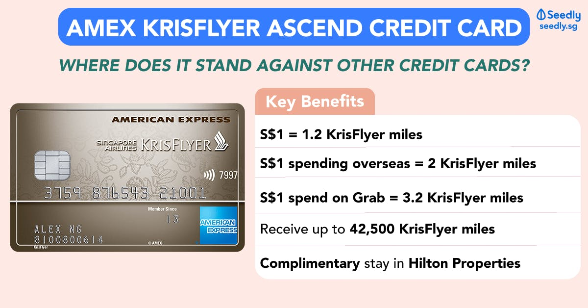 AMEX KrisFlyer Ascend Credit Card
