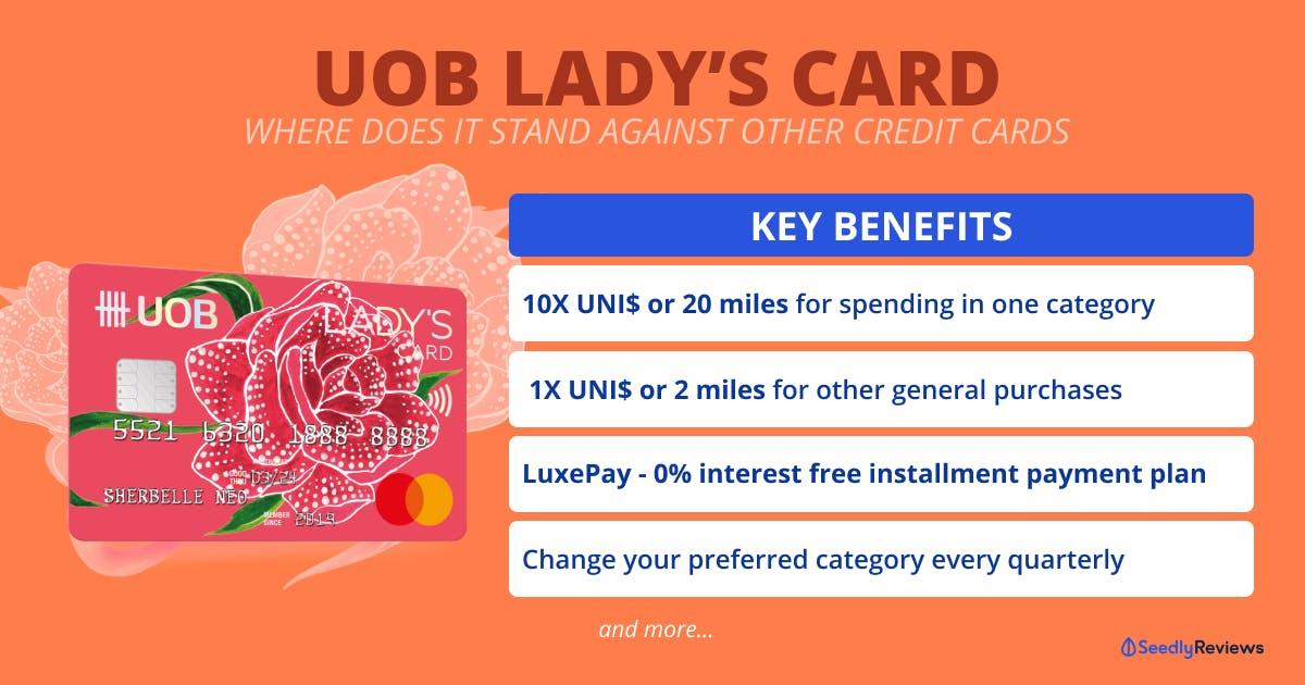 UOB Lady's Card Rewards Benefit Summary