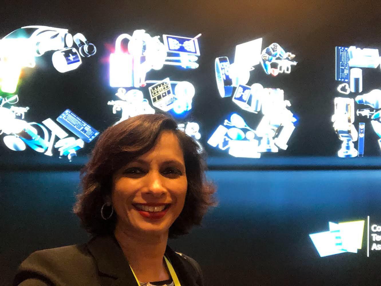Seema Kumar for SEEMA, SEEMA Blog, CES, CES 2020. Consumer Electronics Show, Seema magazine, Seema network, Seema empowering Indian women leaders, SEEMA Tech