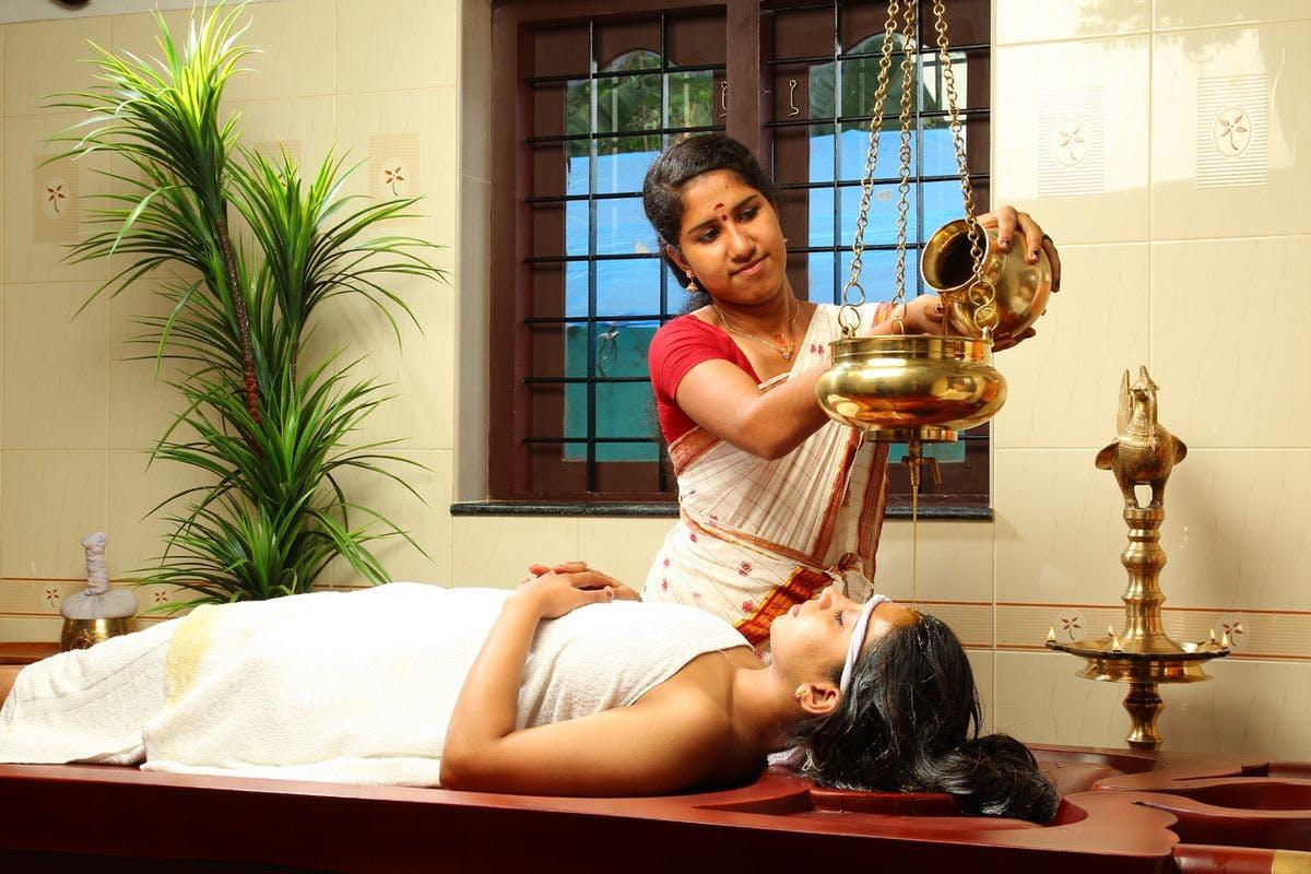 Kerala Ayurvedic massage. Kerala travels for seema. SEEMA magazine. SEEMA travels.