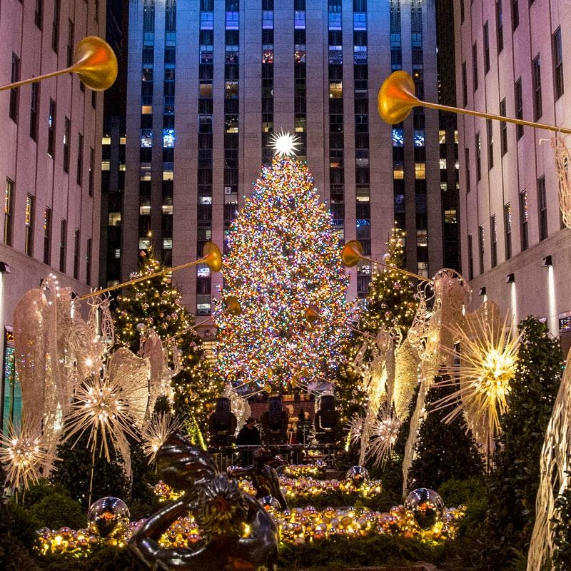Lighting Of The Rockefeller Christmas Tree 2014: New York Is Our Home For The Holidays