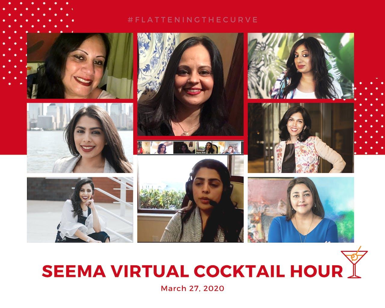 seema.com, seema network, seema events, seema newsletter, seema virtual cocktail hour seema social, seema hour during quarantine, seema march 2020, seema events 2020