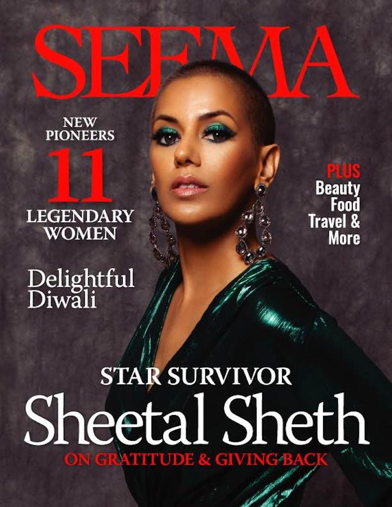 SEEMA magazine. SEEMA Network. Sheetal Sheth for SEEMA. South Asian women leaders. Indian women leaders.