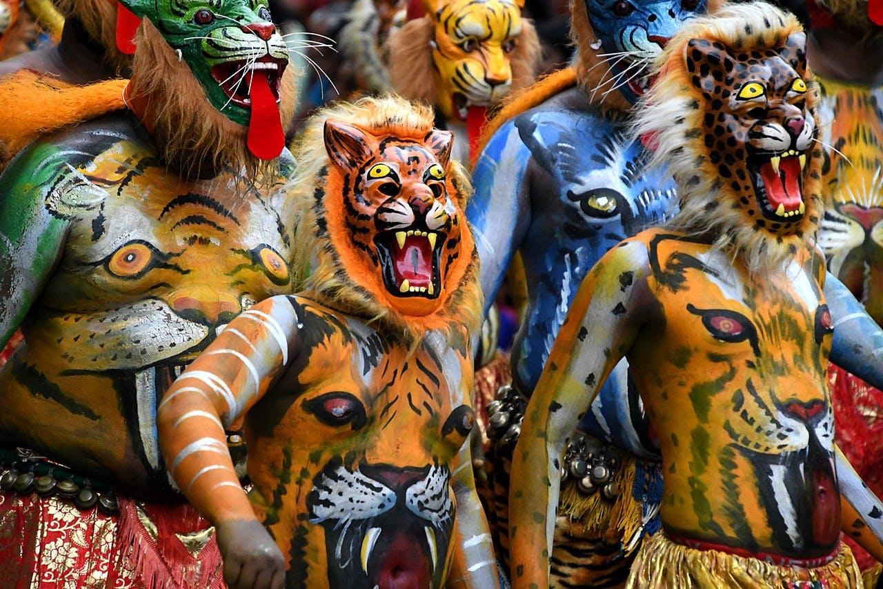 Onam celebrations in Kerala, Kerala travels, SEEMA magazine, seema travel.  Onam 2020 is from August 22 to September  2