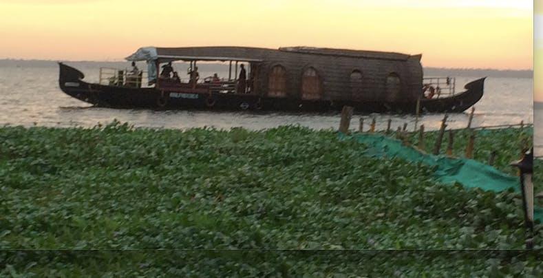 Sharvan Kumar for SEEMA Kerala house boat