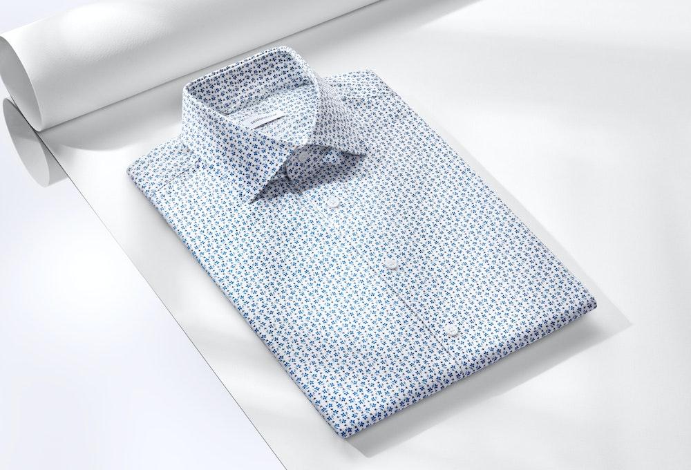 Hemden mit floralem Print | Seidensticker