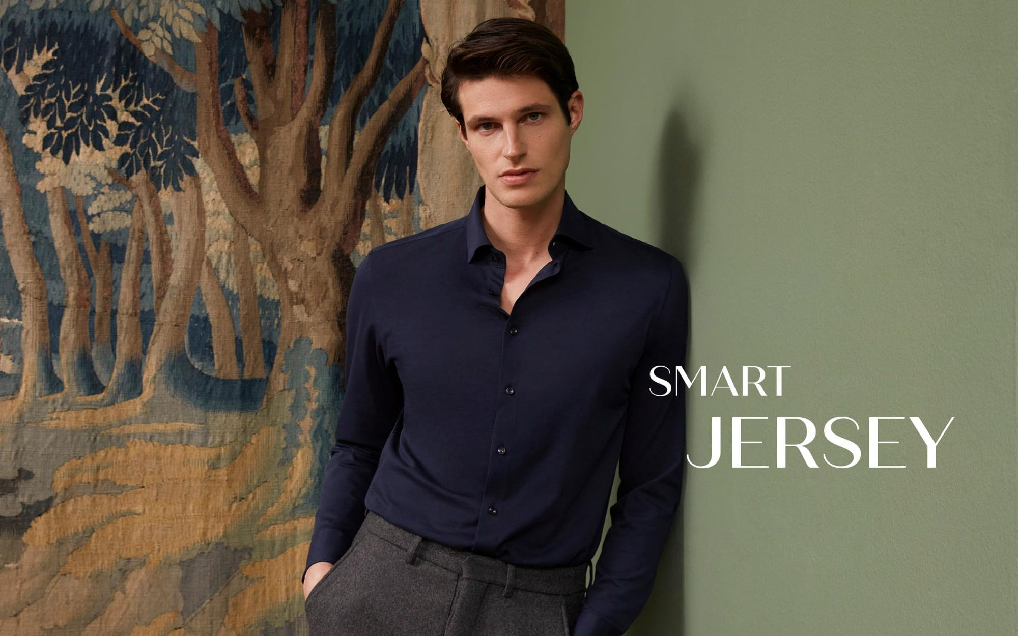 Smart Jersey | Seidensticker
