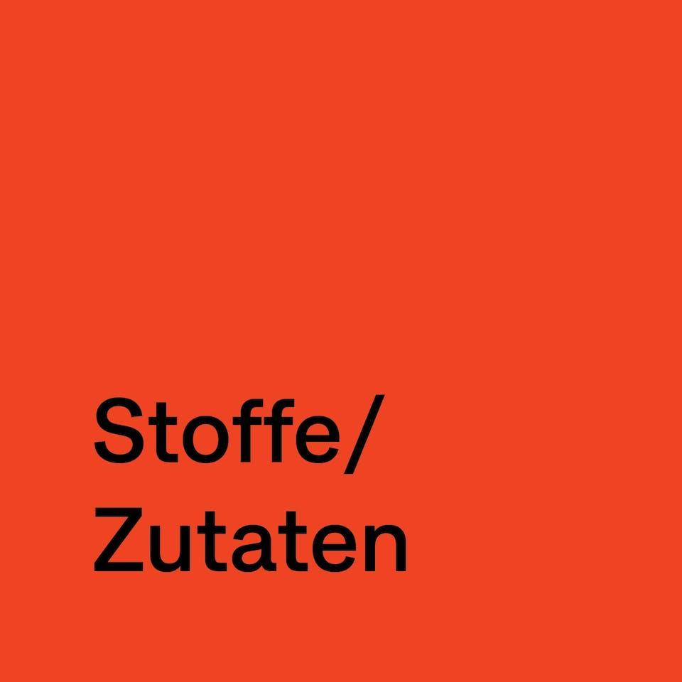 Stoffe/Zutaten | Studio Seidensticker