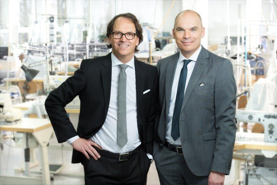 Frank und Gerd-Oliver Seidensticker