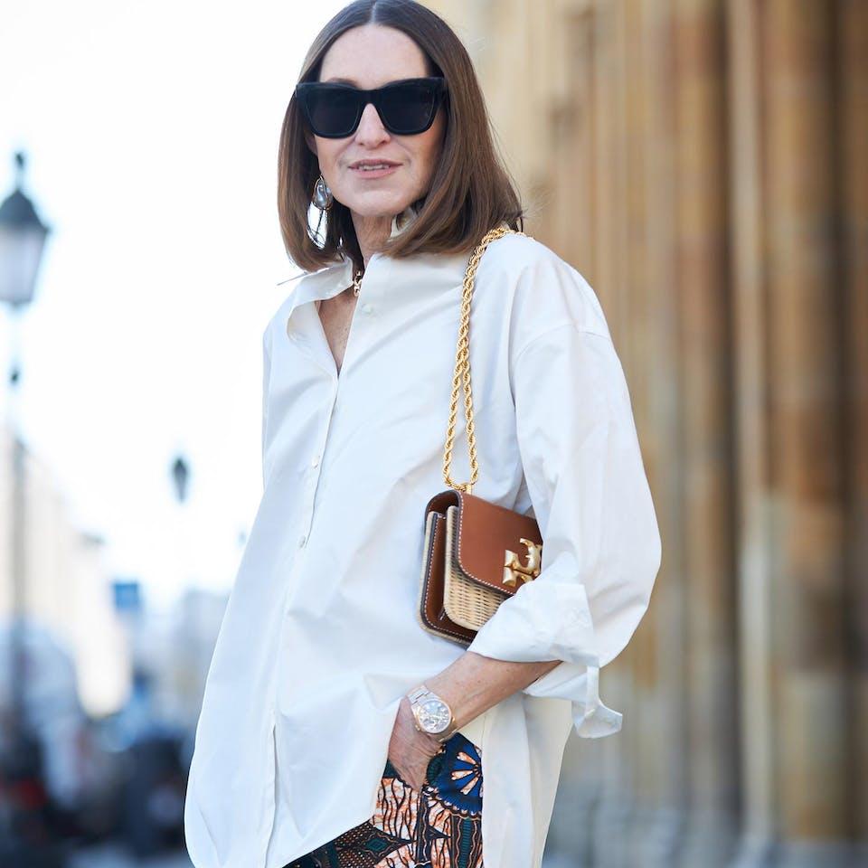 Off-white shirt glam-o-meter | Seidensticker